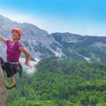 Climbing in the Alps, Photo: www.slovenia.info
