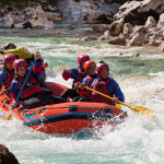Rafting on Soča, Photo: www.slovenia.info