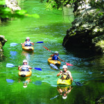 Kayaking on river sava, Photo: www.slovenia.info