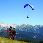 Skydiving, Photo: www.slovenia.info